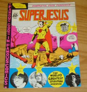 SuperJesus #1 VG (1st) print - atlantis pictures underground comix fumetti 1972