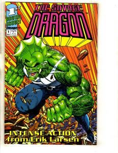 12 Image Comic Books Savage Dragon 1 2 2 3 4 5 Deathmate (4) Union 1 Dark 1 DJ2