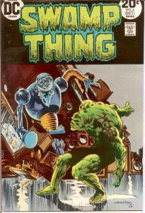 SWAMP THING 6 F+   October 1973 Wrightson COMICS BOOK