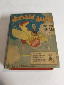 Donald Duck Off The Beam Vf Very Fine 8.0 Big Little Books 1438