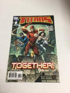 Titans 1 Variant Nm Near Mint DC Comics '08