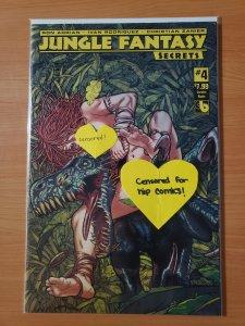 Jungle Fantasy Secrets #4 Lorelei Nude Variant Cover