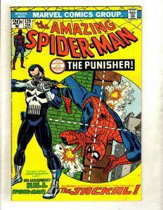 Amazing Spider-Man # 129 VF- Marvel Comic Book 1st Punisher Appearance KEY GK1