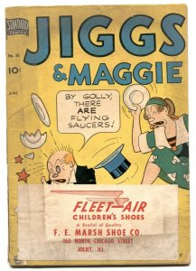 Jiggs and Maggie #20 1951- Golden Age comic G