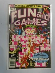 Marvel Fun and Games #9 (1980) 5.0 VG/FN
