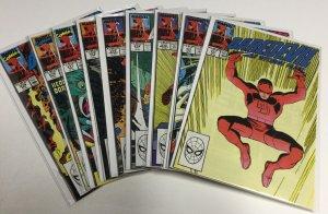 Daredevil 271 272 273 274 275 276 277 278 279 Nm Near Mint Marvel Comics
