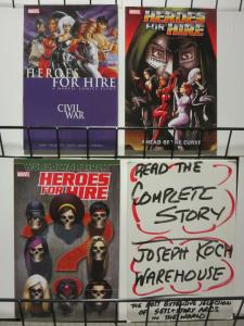 HEROES FOR HIRE TPB (2007-2008) vol.1-3  COMPLETE !