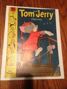 Tom and Jerry Comics vol.1 #111 (October, 1953) Dell GD/VG