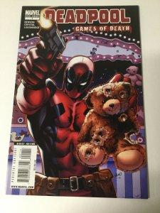 Deadpool: Games Of Death Nm Near Mint Marvel