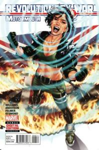 Revolutionary War: Motormouth #6, VF+ (Stock photo)