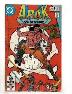 Arak, Son of Thunder #9 (1982) YY7