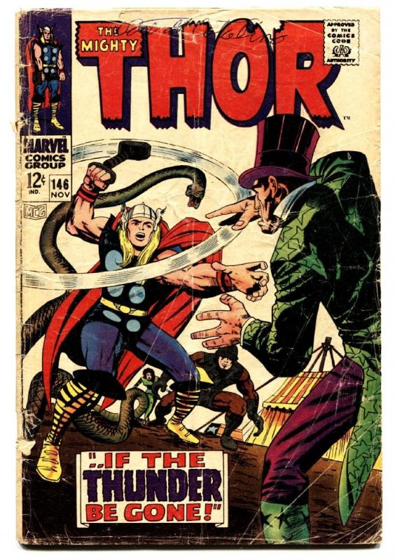 Thor #146 Origin of the INHUMANS Marvel 1967 - Comic Book