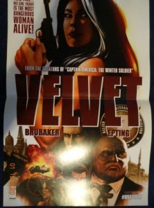 VELVET Promo Poster, 12 x 18, 2013, IMAGE Unused more in our store 447