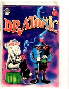 Dr. Atomic # 2 VG Last Gasp Underground Comic Book Comix FM6
