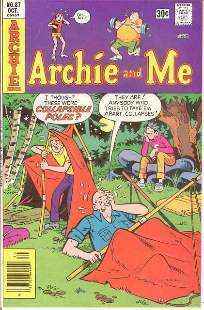 ARCHIE & ME (1964-1987)87 VF-NM   October 1976 COMICS BOOK