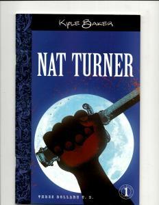 8 Comics Nat Turner 1 Hunger 2 Ball/Chain, Transformers Eternity Backlash+ J344