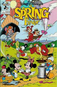 Walt Disney's Spring Fever #1 FN; Gladstone | save on shipping - details inside