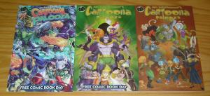 Cartoonapalooza #1-2 VF/NM complete series + variant - kevin grevioux - ape set