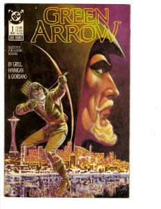 4 Green Arrow DC Comic Books # 1 2 3 4 Dick Giordano Grell Oliver Queen BH27