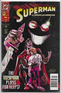 Superman   vol. 2   # 84 GD Toyman