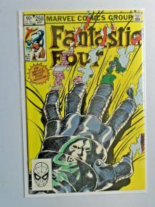 Fantastic Four #258 Direct 1st Series 8.0 VF (1983)