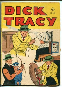 DICK TRACY #133-DELL-FOUR COLOR COMICS-CHESTER GOULD-vg minus