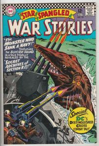 Star Spangled War Stories #127 (Jul-66) VF/NM High-Grade Dinosaur