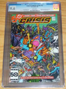 Crisis on Infinite Earths #12 CGC 9.6 first appearance of FLASH (wally west)