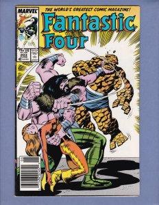 Fantastic Four #303 FN Thundra Marvel 1987