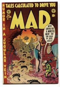 MAD  #8 1954-EC-Wally Wood-Will Elder-Kurtzman-Batman-FN/VF