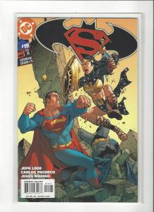 Superman/Batman #15 DC Comics  Carlos Pacheco Art NM