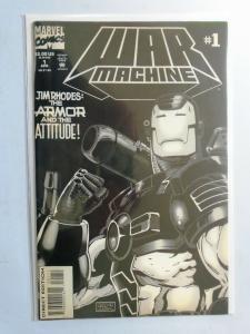 War Machine (1st Series) #1, 6.0/FN (1994)