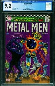 METAL MEN #26 CGC 9.2 -DC-ROBOT COVER-1967 2039573015
