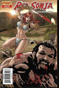Red Sonja #35 (Dynamite Entertainment)- Carlos Rafael Cover