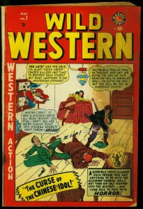 Wild Western #7 1949- Kid Colt- Two-Gun Kid- Blaze Carson Marvel Comics G