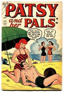 Patsy and Her Pals #2-1953-Patsy Walker-Hedy Wolf-gga beach cover