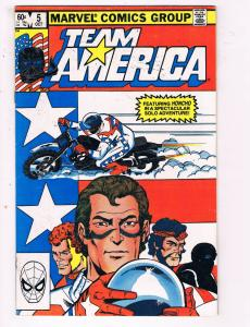 Team America #5 VF Marvel Comics Group Comic Book Oct DE23