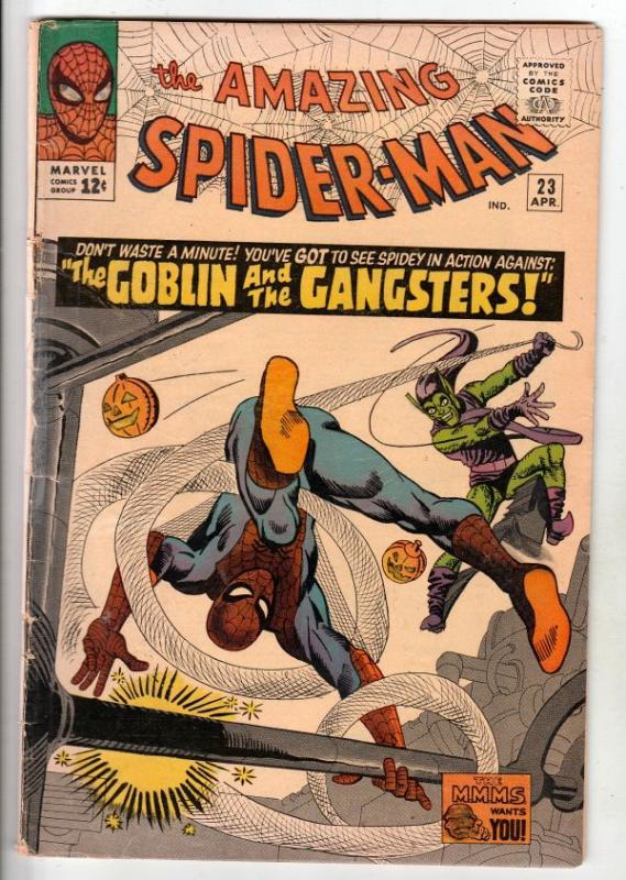 Amazing Spider-Man #23 (Apr-65) VG+ Affordable-Grade Spider-Man