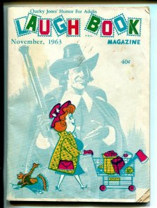 Charley Jones Laugh Book 11/1963-Jayhawk Press-cartoons-gags-Thanksgiving-VG