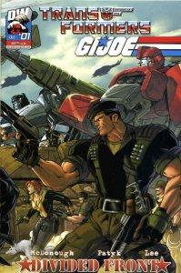 Transformers/GI Joe: Divided Front #1B VF/NM; Dreamwave   save on shipping - det