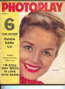 Photoplay-Debbie Reynolds-Rock Hudson-Bob Evans-Tab Hunter-Dec-1958