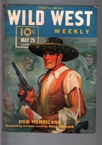 WILD WEST WEEKLY 5/18/1940-WESTERN PULP-WHITE WOLF FN