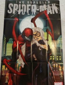 SUPERIOR SPIDER-MAN Promo Poster, 24 x 36, 2013, MARVEL Black Cat, Unused 292