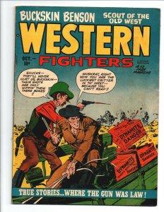 Western Fighters vol.2 #11 - Hillman - 1950 - Very Good/Fine