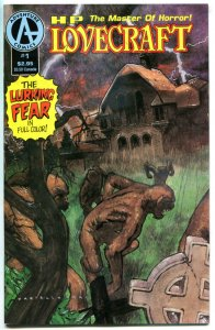 H P LOVECRAFT #1, NM, Master of Horror, 1991, Lurking Fear, more LC in store