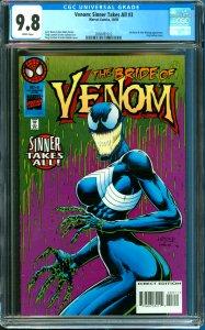 Venom: Sinner Takes All #3 CGC Graded 9.8 Sin-Eater & Ann Weying Appearance