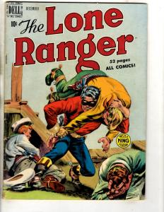 The Long Ranger # 18 FN/VF Dell Golden Age Comic Book King Feature Western JL18