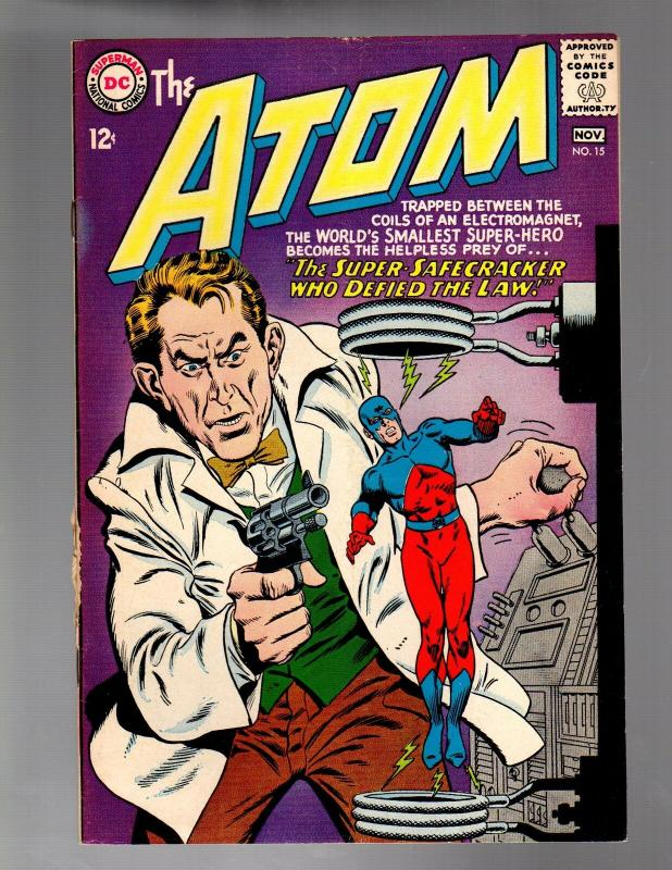 ATOM 15 VERY GOOD MINUS  November 1964