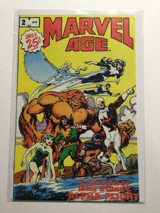 Marvel Age 2 Near Mint Nm Marvel