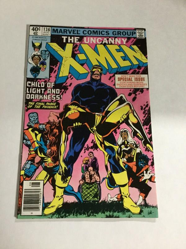 Uncanny X-Men 136 Vf/Nm Very Fine/Near Mint Newsstand Marvel